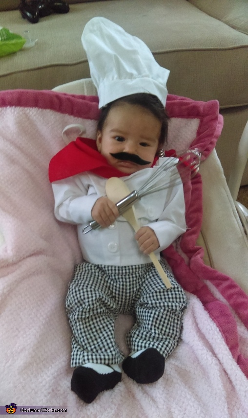 Iron Chef Baby Costume