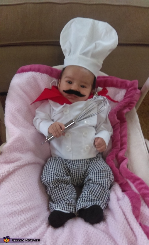 Iron Chef Baby Homemade Costume