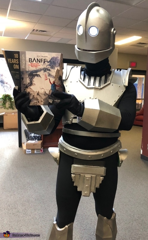 During our film festival!, Iron Giant Costume