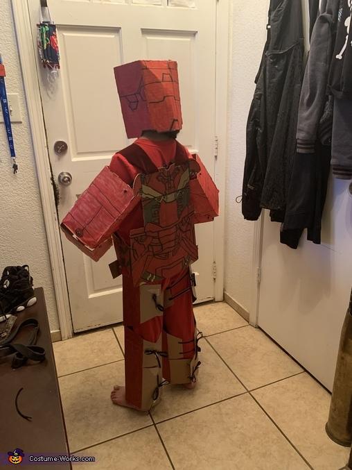Back side, Iron Man Costume