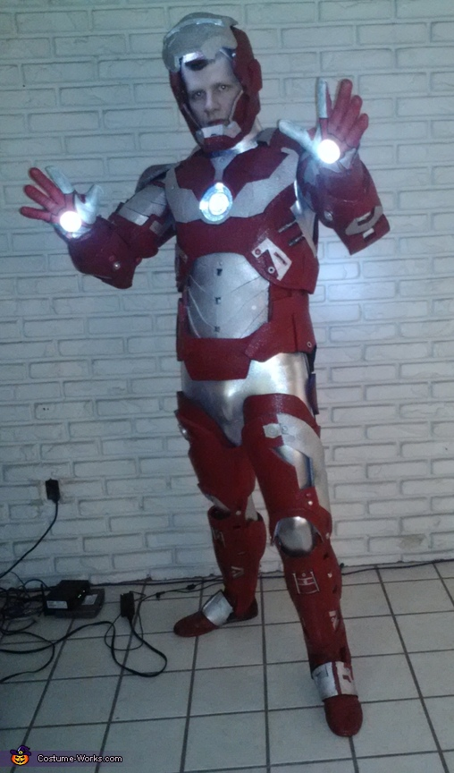 Iron Man Costume open faceplate, Iron Man Costume