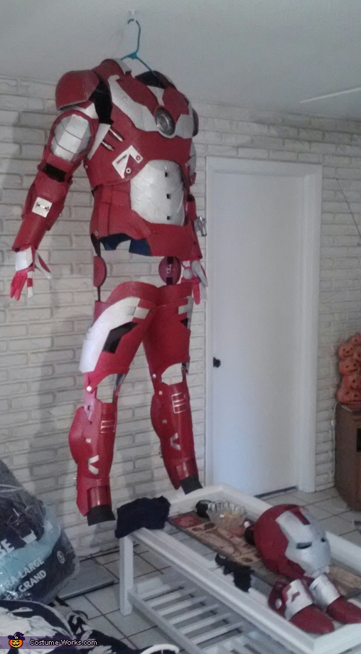 Iron Man hanging out., Iron Man Costume