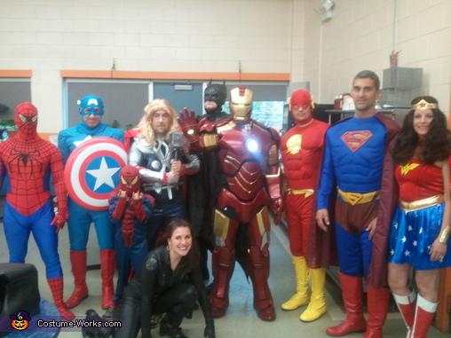 Iron Man Homemade Costume