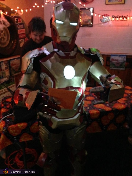 Local halloween party, Iron Man Costume