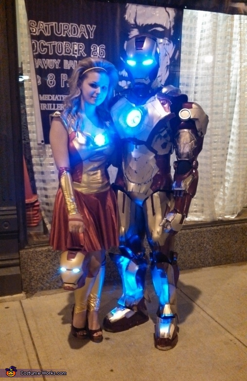 Homemade Iron Man Costume