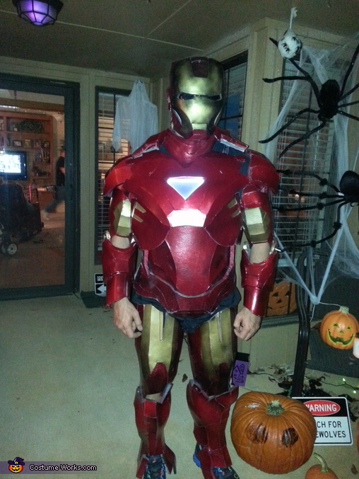 Iron Man!, Iron Man Costume