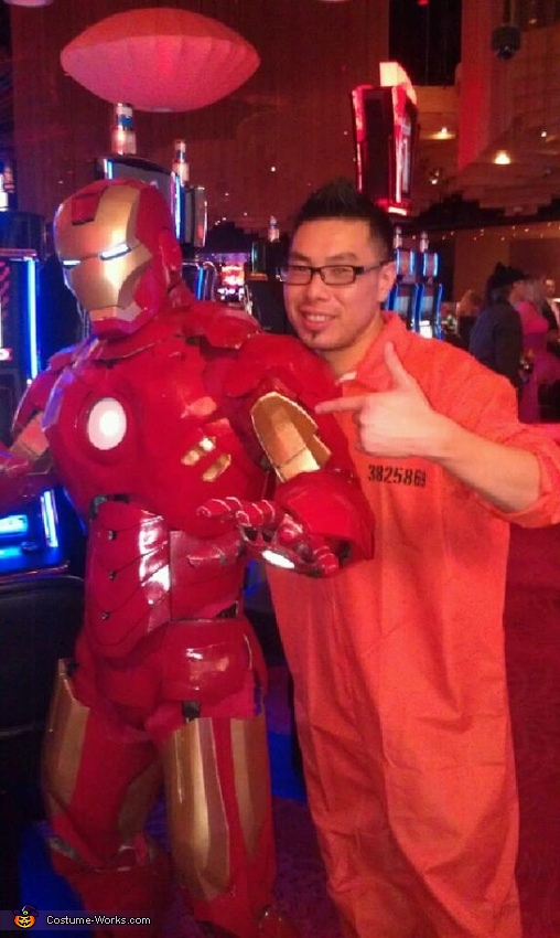 Iron Man Homemade Costume