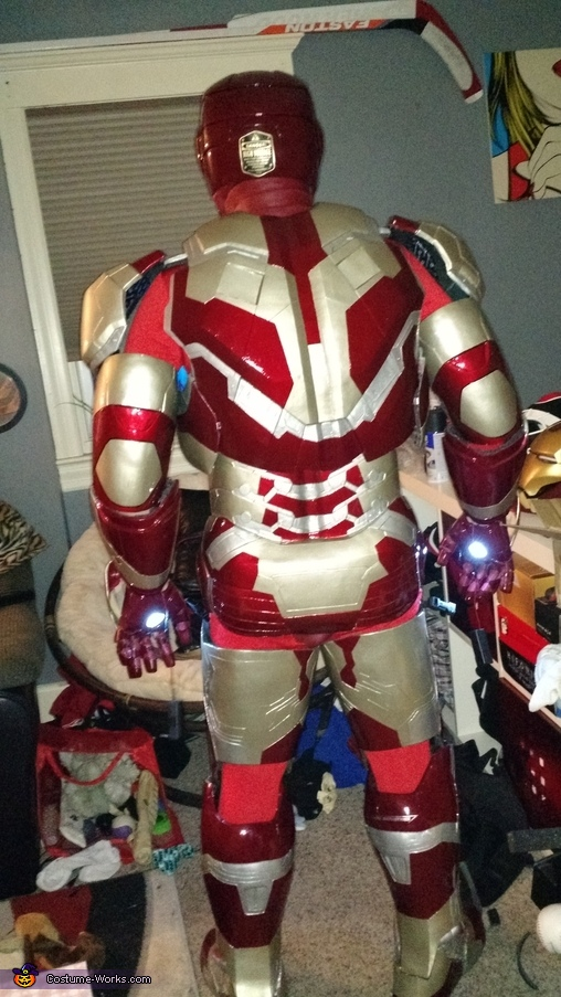 Iron Man Mark 42 Homemade Costume