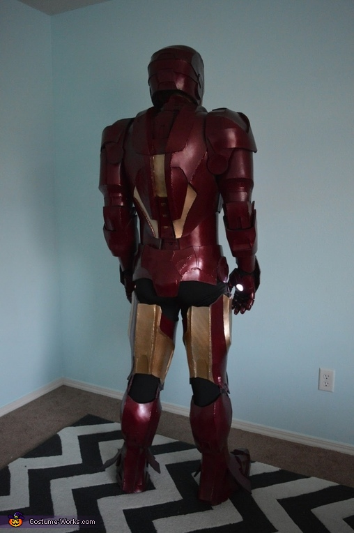Iron Man Mark 4 Homemade Costume