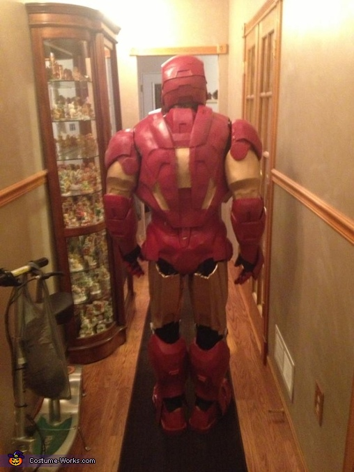 back, Iron Man Mark 6 Costume
