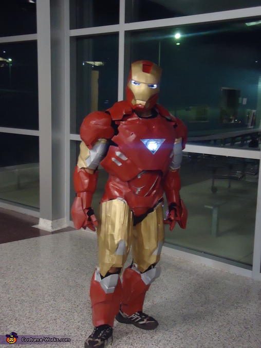 suit without the shoes., Iron Man Mark 6 Costume