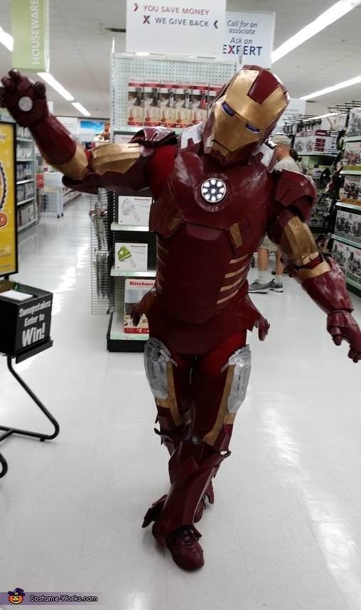 even ironman can pose like lalaloopsy, Iron Man Mk7 Costume