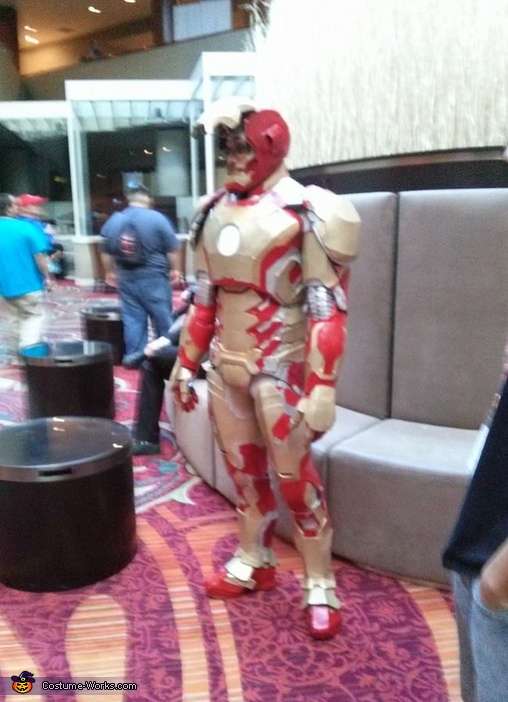ironman, Iron Man MK 42 Costume
