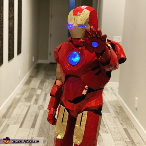 Gavin Iron Man 2, Iron Man Suit Costume