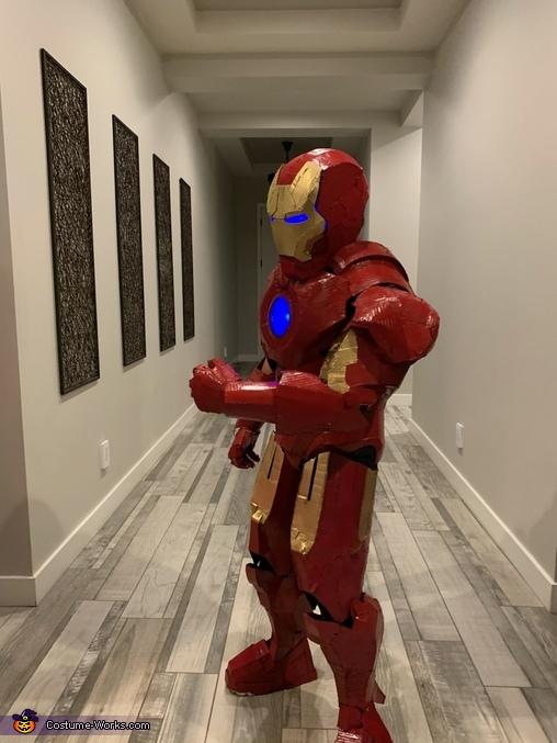 Gavin Iron Man 3, Iron Man Suit Costume