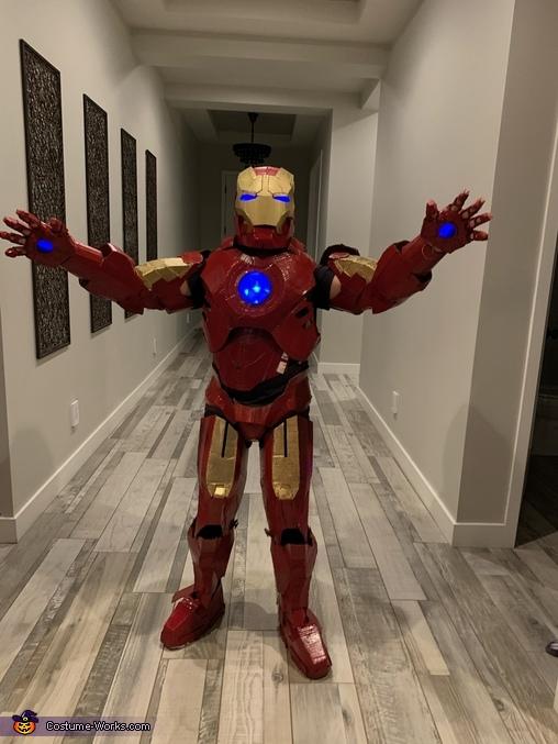 Gavin Iron Man  4, Iron Man Suit Costume