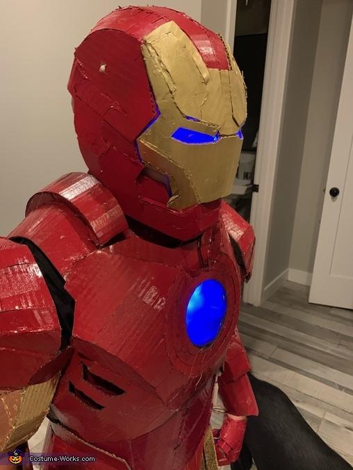 Gavin Iron Man 5, Iron Man Suit Costume