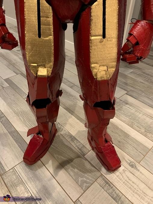 Gavin Iron Man 6, Iron Man Suit Costume