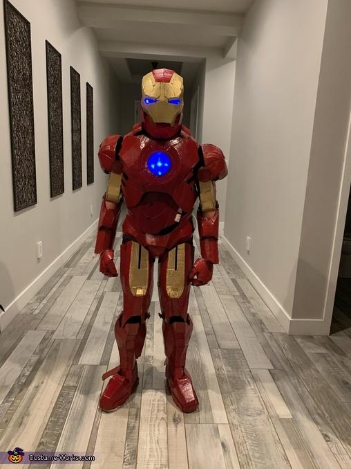 Gavin Iron Man 9, Iron Man Suit Costume