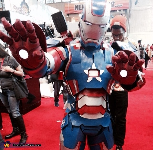 Iron Patriot Homemade Costume