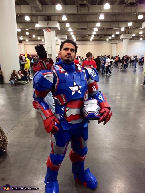 Iron Patriot Homemade Costume
