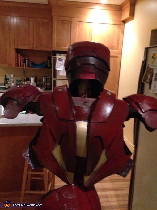 with paint, Ironman Mark VI Costume