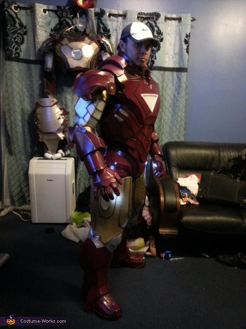 DIY Ironman Mark VI Costume
