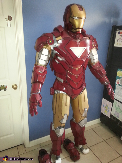 DIY Ironman Mark VI Costume