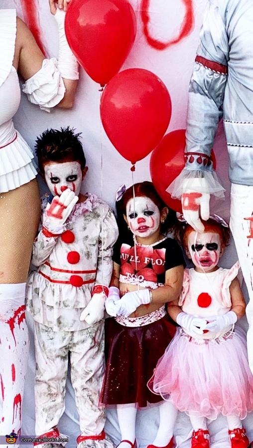 IT 2 Family Homemade Costume