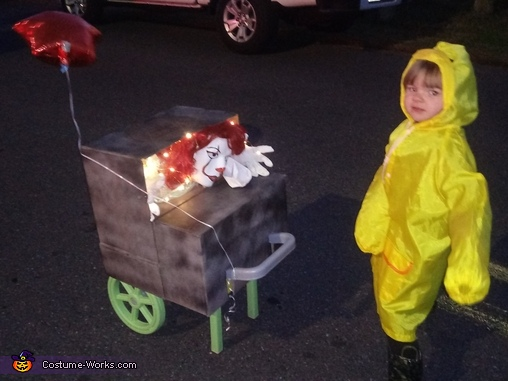 IT Georgie Homemade Costume