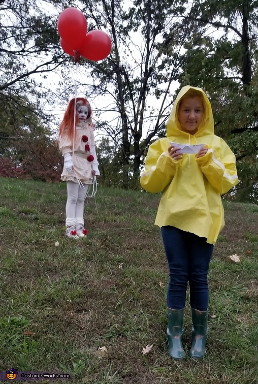 Pennywise and Georgie, IT Movie Costume