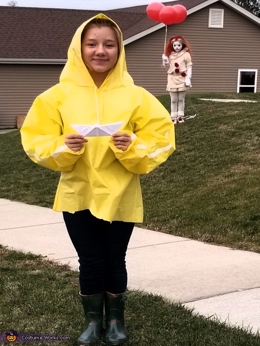 you will float, IT Movie Costume