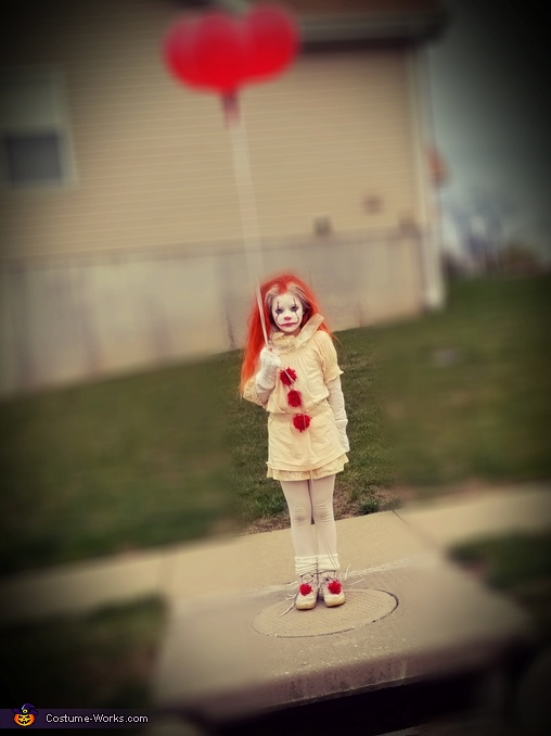 PENNYWISE, IT Movie Costume