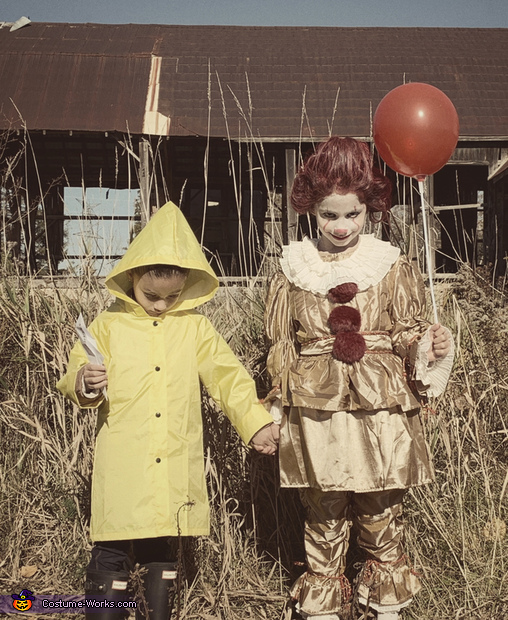 IT Pennywise and Georgie Costume