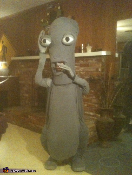 Lillian as Roger Smith from the American Dad! series, American Dad! Roger the Alien Costume