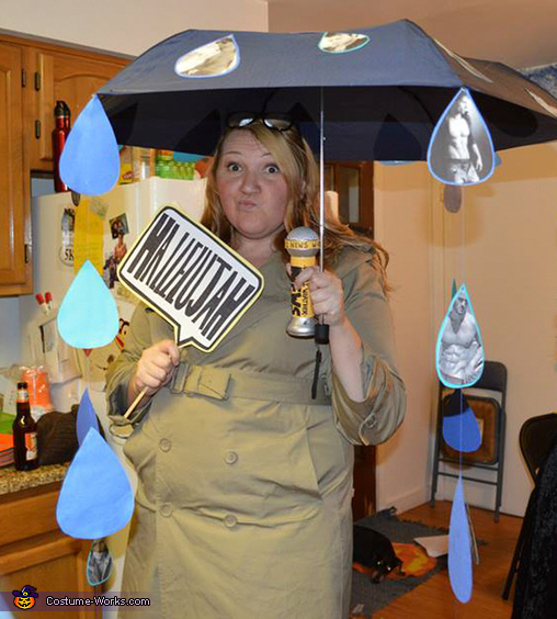 It's Raining Men Homemade Costume