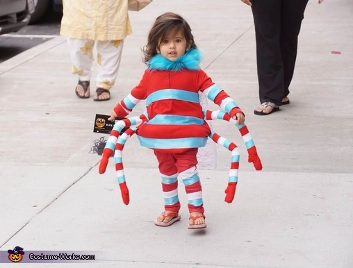 Itsy Bitsy Spider Homemade Costume