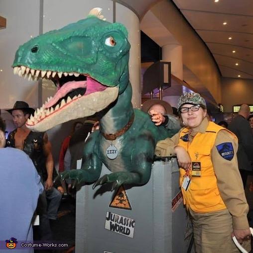 Izzy the Jurassic World Dino Costume
