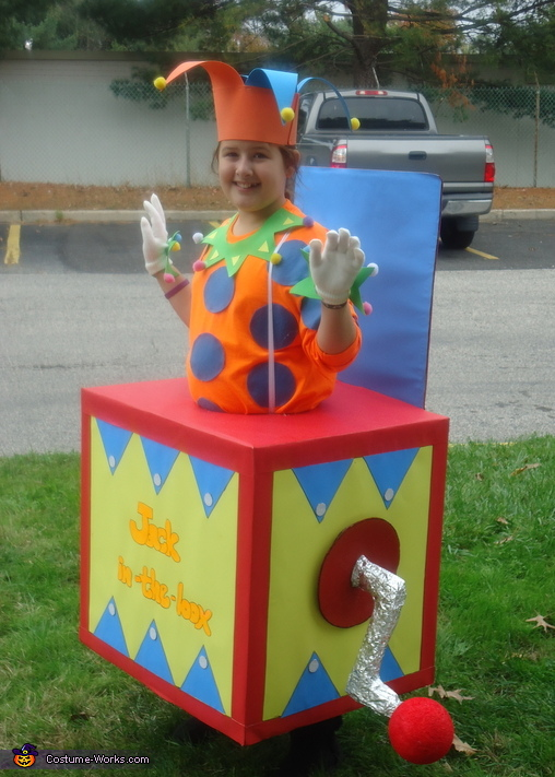 JACK-IN-THE-BOX, Jack-in-the-Box Costume