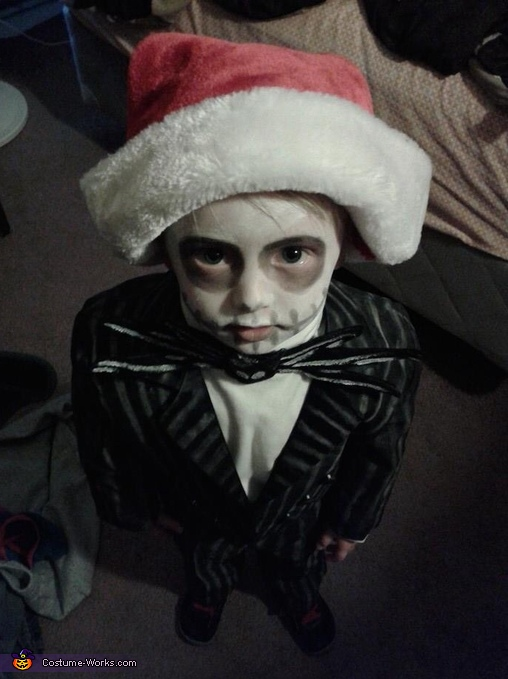 Little Jack Skellington!!, Jack Skellington Costume