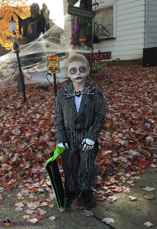 Jack the Pumpkin King Costume