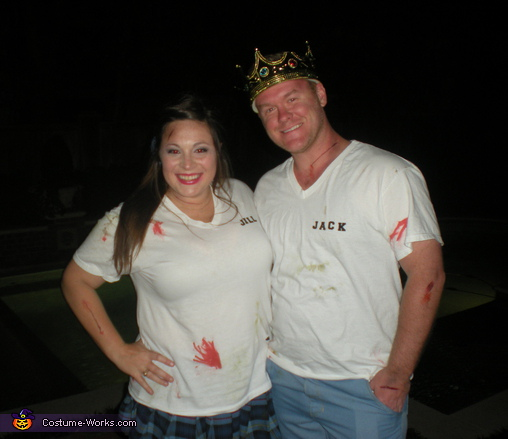 Jack and Jill - Homemade costumes for couples