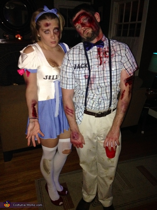 Jack and Jill... After Costume