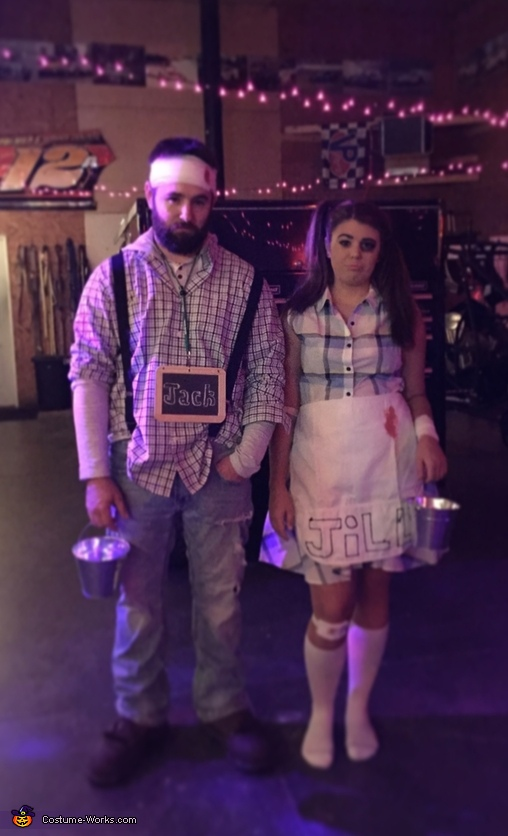 Jack and Jill Couple Costume