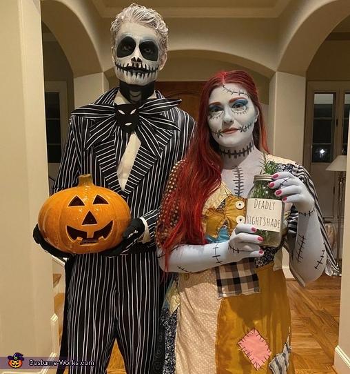 Jack and Sally (Nightmare Before Christmas) Costume