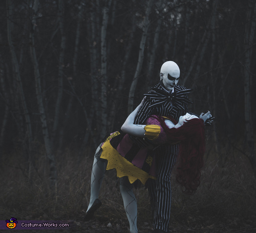 We're Simply Meant To Be, Jack and Sally Costume
