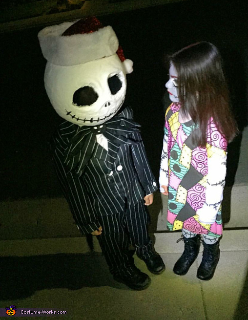 nightmare before xmas, DIY Jack and Sally Costume