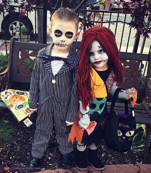 Jack and Sally Costume