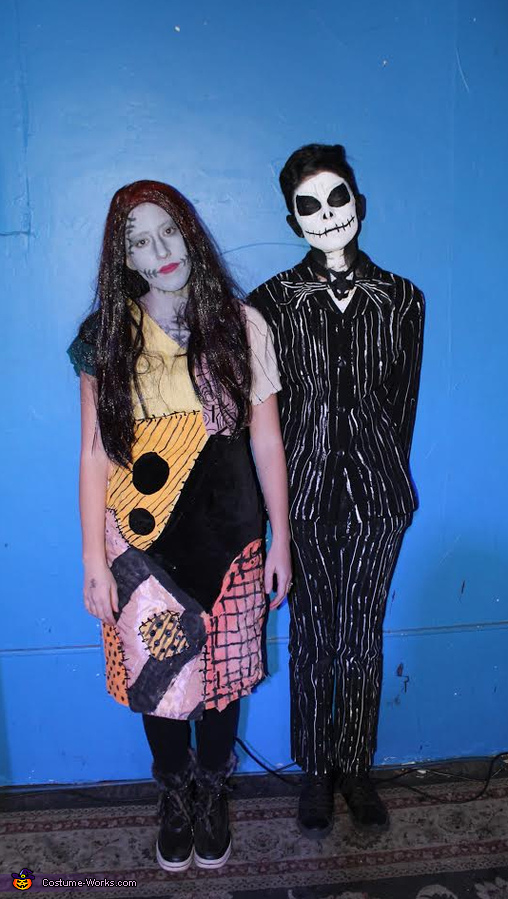 Jack and Sally (Nightmare Before Christmas) Costume
