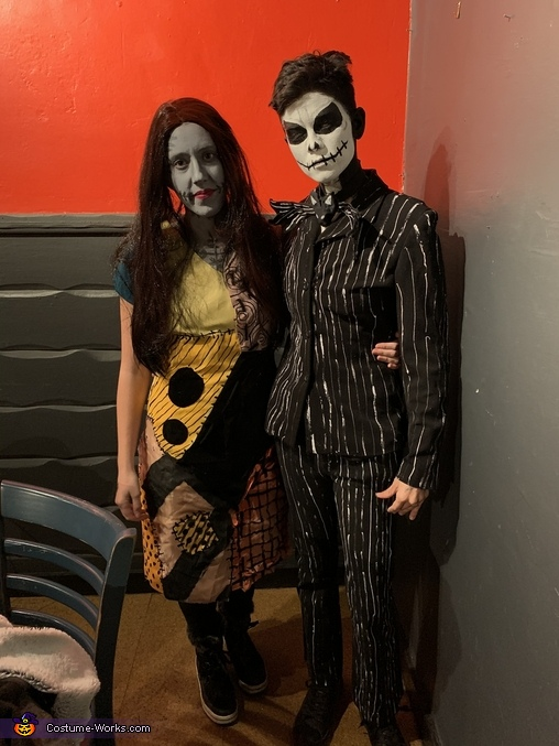 Spooky Jack and Sally, Jack and Sally (Nightmare Before Christmas) Costume